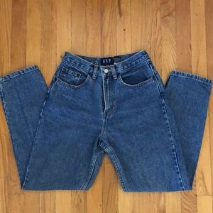 Gap Classic Fit High Waist Ankle Jeans